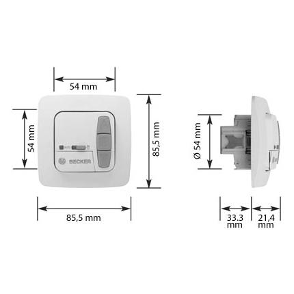 Becker MC42 MemoControl Memorytaster