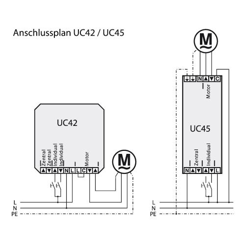 Becker Steuergerät UC 42 Anschluss