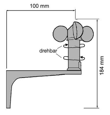 Maße Wiso Kristall-Messstation
