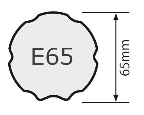 Für Profilwelle E 65