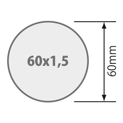 Rademacher Adapterset 60x1 5 F R Rundwelle Rundrohr 60