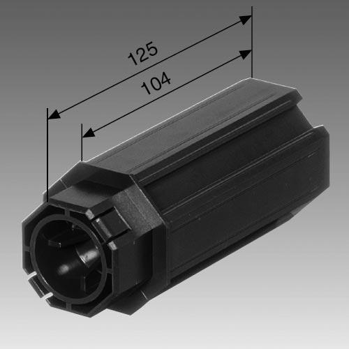 Walzenkaspel SW 50 für 28 mm Kugellager Maße