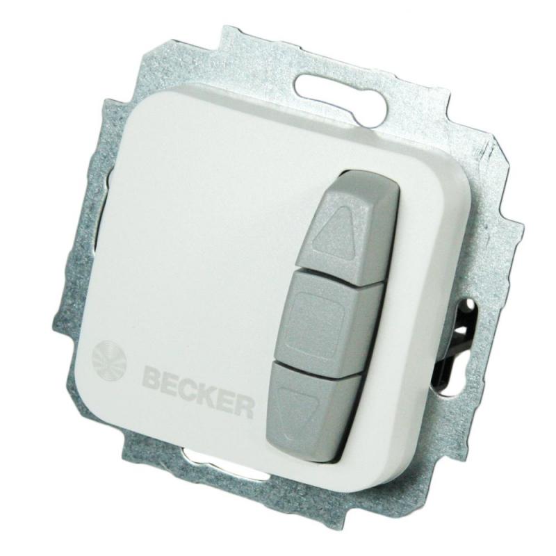 becker markenshop becker schalter taster easycontrol ec52 unterputz ultrawei schalter. Black Bedroom Furniture Sets. Home Design Ideas