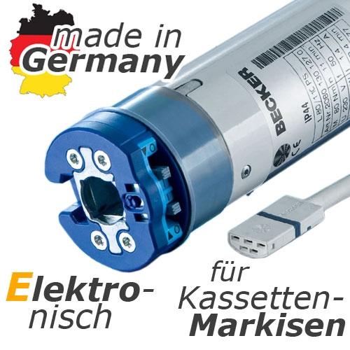 Becker Elektronischer Rohrmotor F R Kassettenmarkisen L44