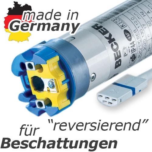 Becker Elektronischer Rohrmotor Mit Reversierfunktion F R