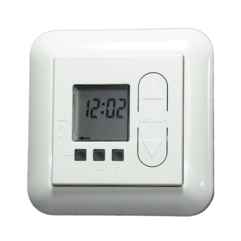 becker zeitschaltuhr timecontrol u26 rolladen und sonnenschutzprodukte enobi gmbh. Black Bedroom Furniture Sets. Home Design Ideas