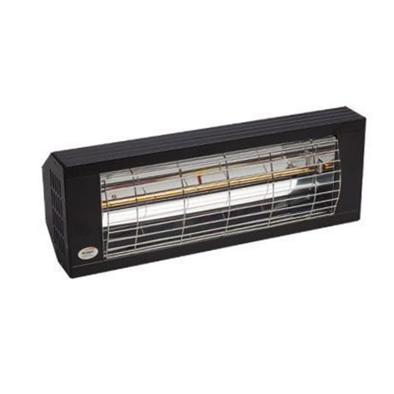 burda heizstrahler smart 2000 ip20 low glare 2000 watt schwarz rolladen und. Black Bedroom Furniture Sets. Home Design Ideas