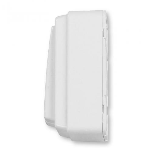 enobi mini doppel wippschalter aufputz mit rast ultrawei schalter taster rolladen und. Black Bedroom Furniture Sets. Home Design Ideas