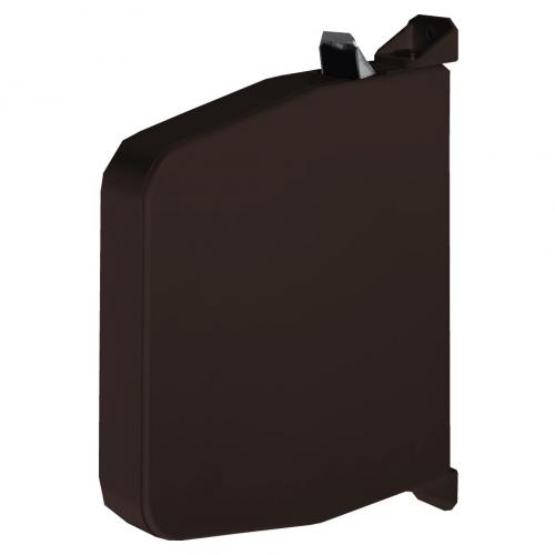 selve mini getriebe schnurwickler ohne schnur schwenkbar f r 4 5 mm schnur braun rolladen. Black Bedroom Furniture Sets. Home Design Ideas