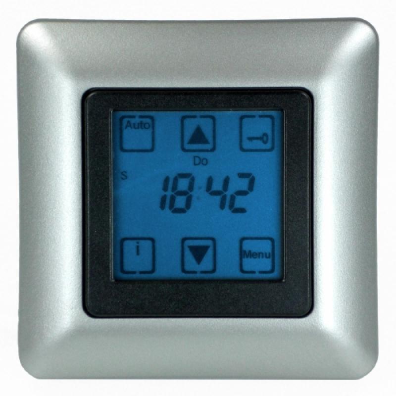 vestamatic zeitschaltuhr quattro s50 nero mit touchscreen rolladen und sonnenschutzprodukte. Black Bedroom Furniture Sets. Home Design Ideas
