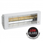 Heizstrahler SMART 2000 IP20 Low Glare, 1300 Watt, weiß