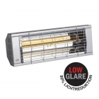 Heizstrahler SMART 2000 IP20 Low Glare, 2000 Watt, silber