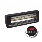 Heizstrahler SMART 2000 IP20 Low Glare, 2000 Watt, schwarz