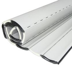 enobi Aluminium-Rollladenpanzer AP55, 14 x 55 mm, weiß