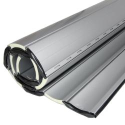 enobi Aluminium-Rollladenpanzer AP55, 14 x 55 mm, silber