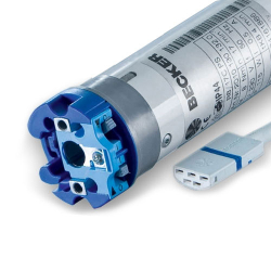 Becker Elektronischer Rohrmotor für Markisen R40-E12 (R40/17C PS(+)), 40 Nm, Baureihe R ; ab Ø 50