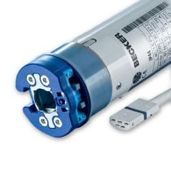 Becker Elektronischer Rohrmotor für Markisen L80-E12 (L80/11C PS(+)), 80 Nm, Baureihe L ; ab Ø 63 mm