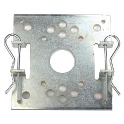 Becker Plattenlager 85 x 85 mm für B-Lasche