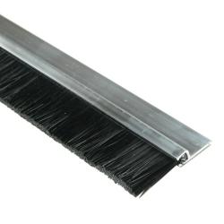 enobi Streifenbürste Typ SV5 30mm mit Alu-Profil, 100cm Länge, Bürstendichtung, Türbürste