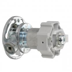 enobi Kegelradgetriebe für Rollladen, Untersetzung 2,6:1, inklusive Adapter SW60 rechts und links