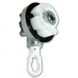 Cherubini Universal Kegelradgetriebe 4,6:1 (Markisengetriebe), blank