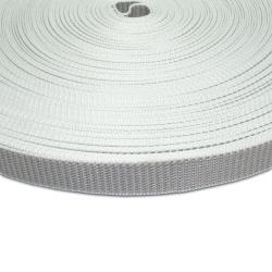 Stahl Rollladengurt Spezial 23, 23 mm Breite, 50 Meter Rolle, grau