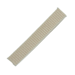 Stahl Rolladengurt Spezial 23, 23 mm Breite, Meterware, beige