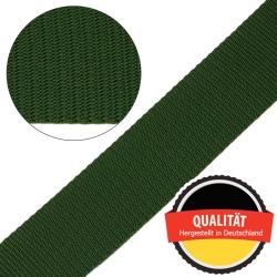 Stahl Gurtband E 410/85 aus Polypropylen (PP), Breite 50 mm, Meterware, Farbe oliv