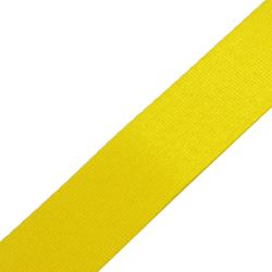 Stahl Sicherheitsgurtband 410 SD aus Polyester, Autogurt, Breite ca. 47 mm, Meterware, Farbe gelb