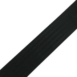 Stahl Sicherheitsgurtband A 603/03/95 aus Polyester, Breite 95 mm, Meterware, Farbe schwarz