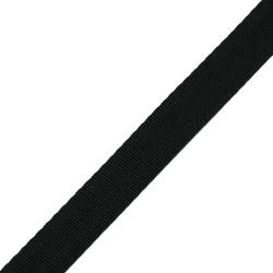 Stahl Sicherheitsgurtband 550 S/25 aus Polyester, Breite ca. 25 mm, Meterware, Farbe schwarz