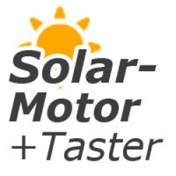 - Motorantrieb Solar Taster