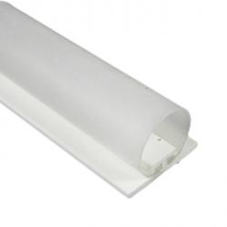 DichtungsSpecht Rollladendichtung HS1/20, weiß, Länge 200 cm, selbstklebend, für Spaltbreiten 14-23 mm