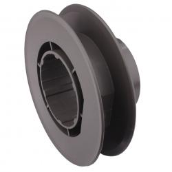 Eckermann Gurtscheibe 22 mm für Profilwelle Eckermann E65, Durchmesser Ø 175 mm
