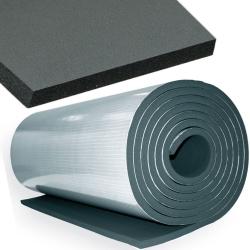 enobi Dämmmatte, Isoliermatte, Schalldämmung, nicht klebend, 10 mm Stärke, 100 x 1000 cm