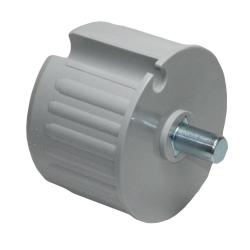 enobi Wellenkapsel mit 12 mm Achsstift für 78 mm Nutwelle (DS / DW 78), Markisenkapsel