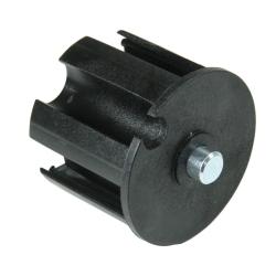 enobi Wellenkapsel mit 12 mm Achsstift für 63 mm Nutwelle (DS / DW 63 / 63N), Markisenkapsel