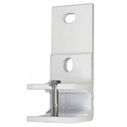 enobi Markisen Wand-Konsole - schmale Ausführung - für 35 mm Tragrohr, weiß
