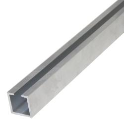 enobi Alu-Kopplung für Stahlrohr 35 x 35 x 2 mm, Länge 50 cm