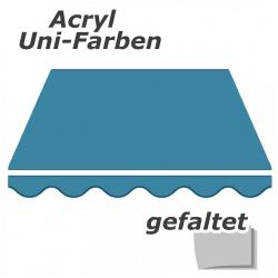enobi Markisentuch aus Acryl auf Maß gefertigt, Uni-Farben (einfarbig) Markisenstoff - gefaltet