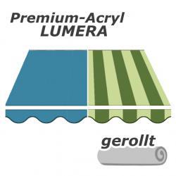 enobi Premium-Markisentuch Lumera aus Acryl auf Maß gefertigt, Markisenstoff - gerollt