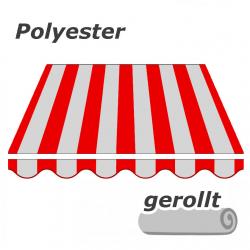 enobi Markisentuch aus Polyester auf Maß gefertigt, Markisenstoff - gerollt