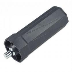 Selve Mini-Walzenkapsel mit Achsstift Ø 10 mm für Stahlwelle SW 40