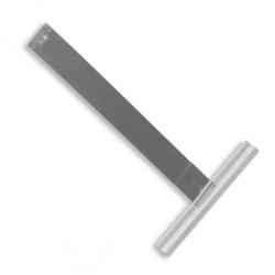 Siral Sicherungs-Befestigungsfeder mit Halteklammer aus Federstahl mit Alu-Profil, blank
