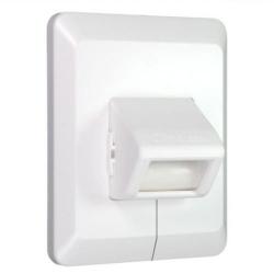 DiHa ESM Sanierungs-Gurtführung für die Wandmontage, bis 23 mm Gurt, weiß