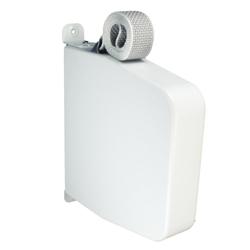 Selve Aufschraub-Gurtwickler mit Gehäuse mit 5 m Gurt, Gurtaufnahme 5,3 m, schwenkbar, bis 23 mm Gurt, weiß