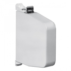 Selve Getriebe-Aufschraub-Gurtwickler mit Gehäuse ohne Gurt, schwenkbar, bis 23 mm Gurt, weiß