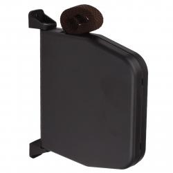 Selve Mini-Gurtwickler schwenkbar mit 5 m Gurt, aufklappbar, bis 15 mm Gurt, braun