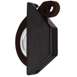 Selve Mini-Halbeinlass-Gurtwickler mit 5 m Gurt, für 15 mm Gurt, braun