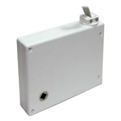 Selve Mini-Getriebe-Kurbelwickler für Gurtband, mit 5m Gurt, weiß
